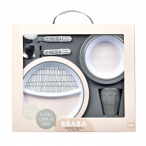 Gift Meal Set-Pink Grid