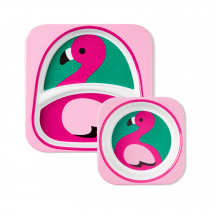 Zoo Tableware Set-Flamingo
