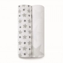 Classic 2-Pack Swaddles Twinkle