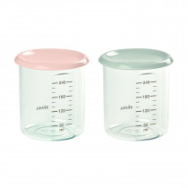 Portion Maxi Set of 2x240ml - Nude/Grey