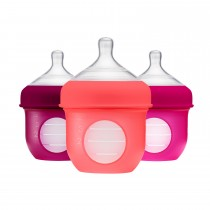 NURSH 4oz Bottle 3pk - Pink Multi