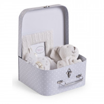 Suitcase Gift Box Natti & Co - Grey