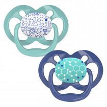 Advantage Pacifier - Stage 2, Blue Chemistry, 2-Pack