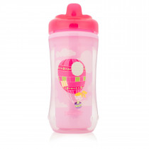 10oz Hard-Spout Insulated Cup - Pink Panda (Stage 3: 12m+)