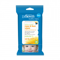 Nose & Face Wipes, 30-Pack