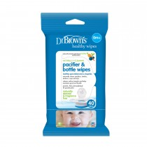 Pacifier & Bottle Wipes, 40-Pack
