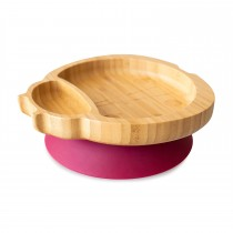 Ladybird Plate with suction base - Red