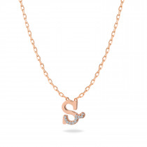 Baby Initial Pendant Letter S, س