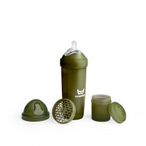 Baby Bottle 340ml/11.5oz Army Green