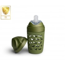 Eco Baby Bottle 220ml/ 7oz Forest Green