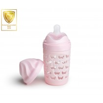 Eco Baby Bottle 220ml/ 7oz Pink