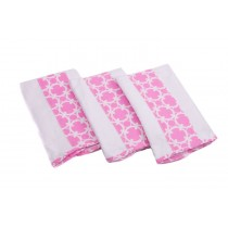 Premium XL Burp Cloth- PINK