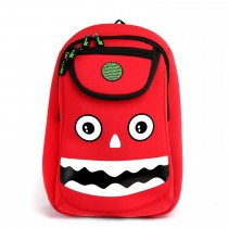 WoW School Bag − Monster Red