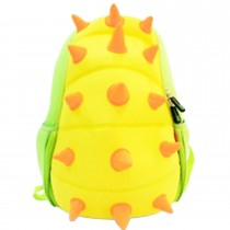 Jungle Backpack- Spiky Dinosaur − Yellow