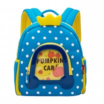 WoW Backpack −  Pumpkin Carriage Blue