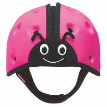 Soft Helmet For Babies Learning To Walk - Ladybird Pink