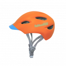 Safeheadtots - Toddler Bike Helmet - Orange Blue