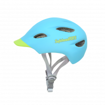 Safeheadtots - Toddler Bike Helmet - Blue Green