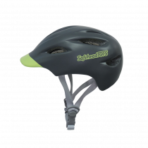 Safeheadtots - Toddler Bike Helmet - Grey Green