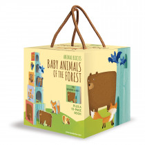 Animal Blocks And Book -Baby Animals Of The Forest