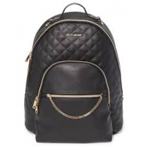 Linx Quilted Diaper Backpack - Black