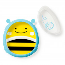 Zoo Smart Serve Plate & Bowl Set - Bee