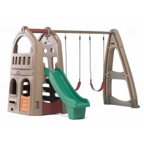 Naturally Playful Playhouse Climber & Swing Extension