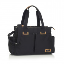Travel Storksak Shoulder Bag − Black