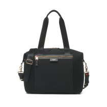 Storksak Stevie Luxe − Black Scuba