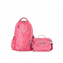 2 - In - 1 Diaper Bag - Peach Pink