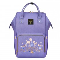 Diaper Bag - Purple Deer