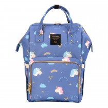 Diaper Bags - Unicorn Blue