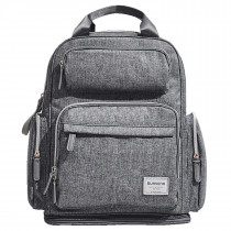 Extendable Diaper Backpack - Grey