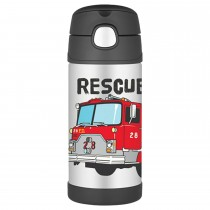 FUNtainer Bottle Steel Hydration Bottle, 355ML - Rescue Truck