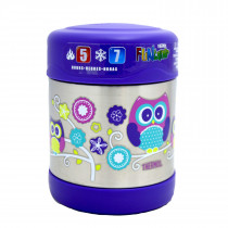 FUNtainer Stainless Steel Food Jar − Owl