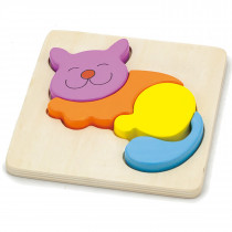 Shape Block Puzzle - Cat