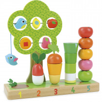 I Learn Counting Vegetables