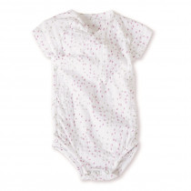 Short Sleeved Bodysuit Lovely Mini Hearts