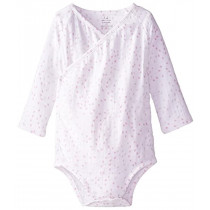 Long Sleeved Bodysuit Lovely Mini Hearts  3-6 months