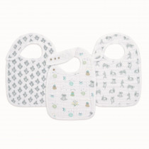 Classic 3 Pack Snap Bibs - Now + Zen