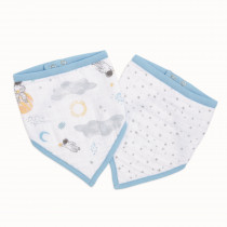 Essentials Bandana 2 Pack Bibs - Space Explorers