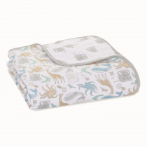Essentials Muslin Single Blanket - Natural History