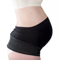 Maternity Support Belt - Black XL, 104cm-110cm, (41″-43″)