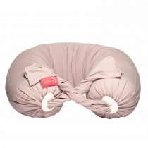 Pregnancy Pillow in Dusty Pink / Vanilla