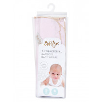 Bebitza - Antibacterial Baby Wrap - Light Pink