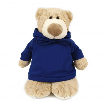 Mascot Bear with Blue Hoodie