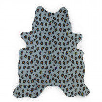 Carpet 145x160cm - Leopard Blue