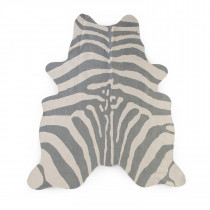 Carpet 145x160cm -Zebra Grey