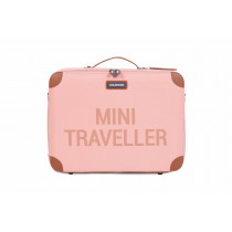 Mini Traveller Kids Suitcase -Pink Copper