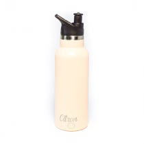 Stainless Steel Bottle 500ml - Peach